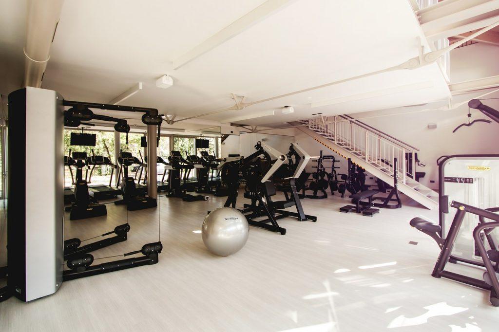 gym equipment room