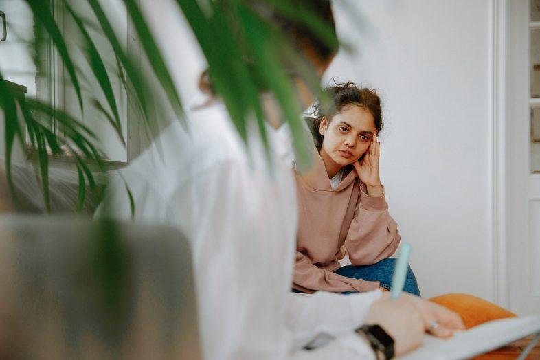 doctor consult women