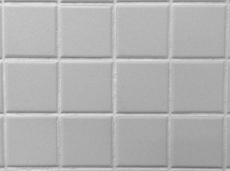 clean tiles white